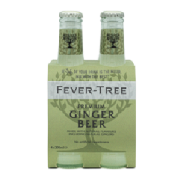 Fever Tree Ginger Beer 4-pack