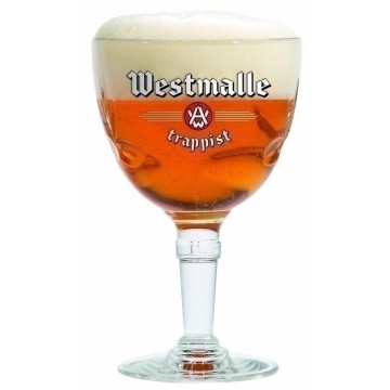 Westmalle Trappist bokaal 33cl.